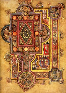 Actual page from the Book of Kells