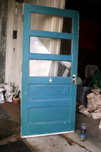 The Craigslist Door, in it's original form.